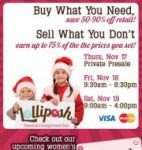 Lolliposh's Holiday Consignment Sale on 11/18 & 11/19