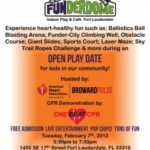 SOUTH FL: FREE Day of Play Event on 2/7 from 5:30-7:30pm