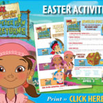 JAKE AND THE NEVER LAND PIRATES: Pirate and Easter Activities