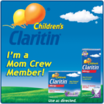 We're now a part of the Children's Claritin Mom Crew