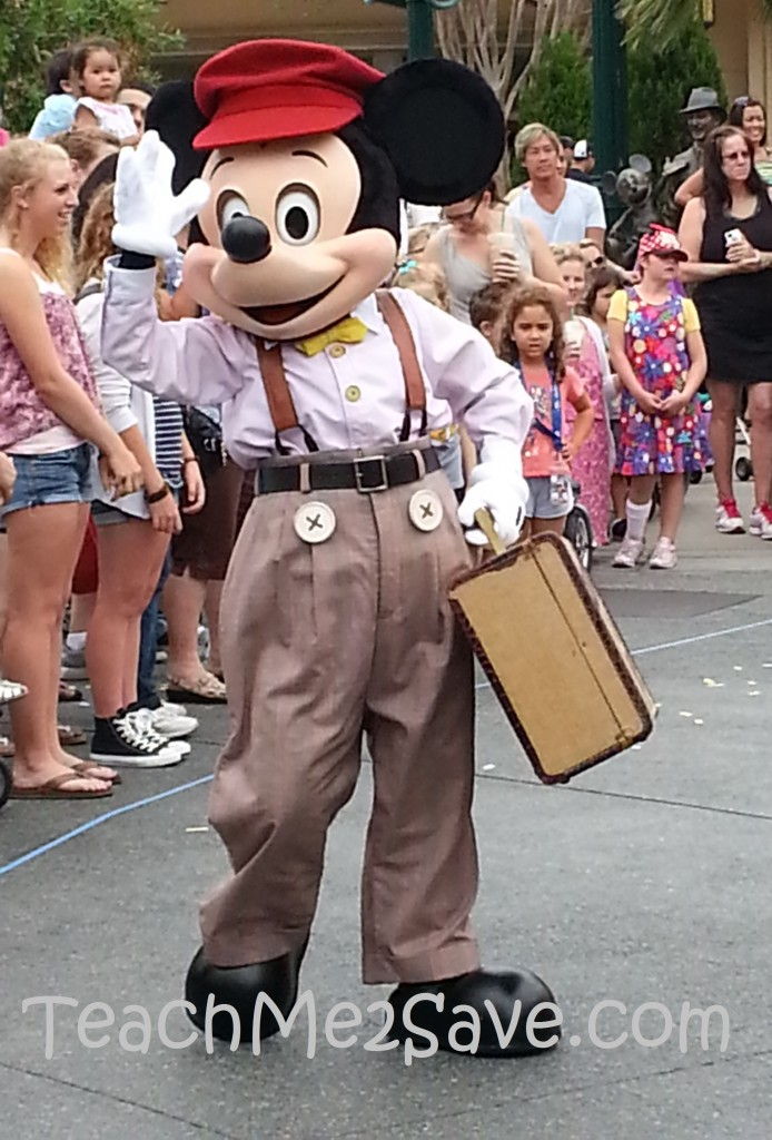 Disneyland Mickey Mouse