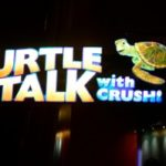My Turtle Talk With Crush #DisneyInHomeBloggers