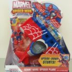 Stunt Wing Spider Plane with Spider-Man & Spinning Propeller