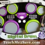 Jammin' Out With The Kawasaki 8-Pad Digital Drum & $25 BJ's Gift Card Giveaway