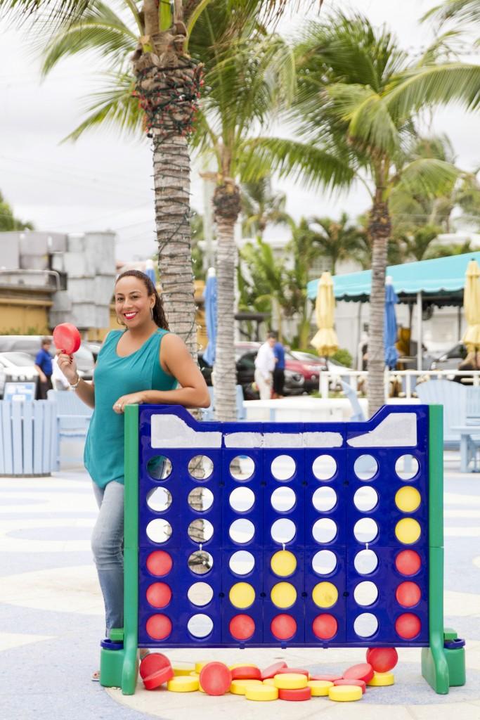 Leanette Fernandez playing