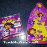 We had a Rockin' Good Time with Dora Rocks! CD, Puzzle & Color Wonder Concert Party Playset