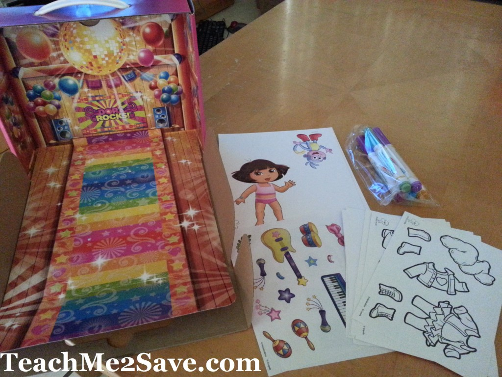 Dora Rocks! Color Wonder Concert Party Playset 2