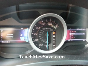 2013 Ford Explorer Dashboard