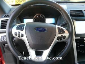 2013 Ford Explorer Steering Wheel