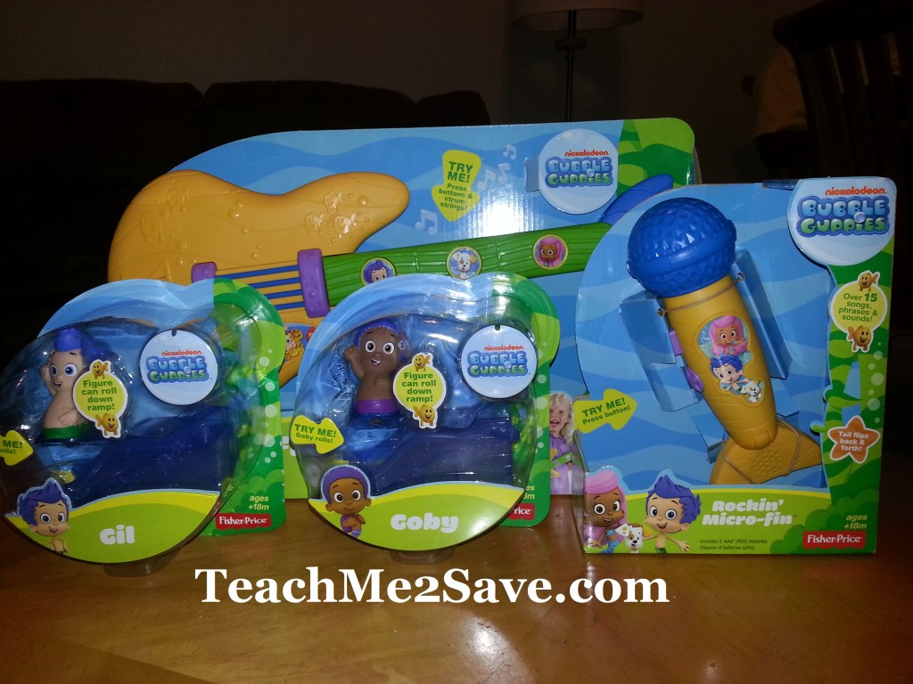 Bubble Guppies Spring Toy Line 4