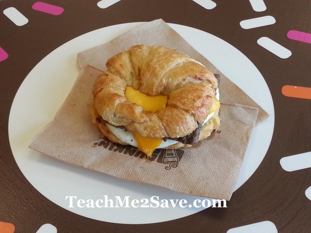DD Breakfast Sandwich