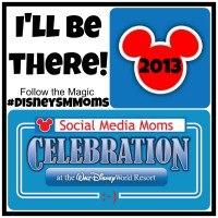 Disney Social Media Moms Conference 2013 Button - 2