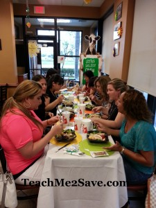 Chick-fil-A Salad Tasting Party 2