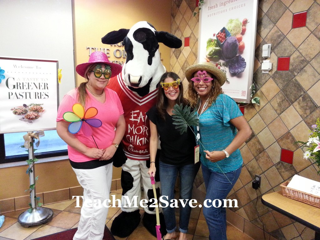 Chick-fil-A Salad Tasting Party Guests 2