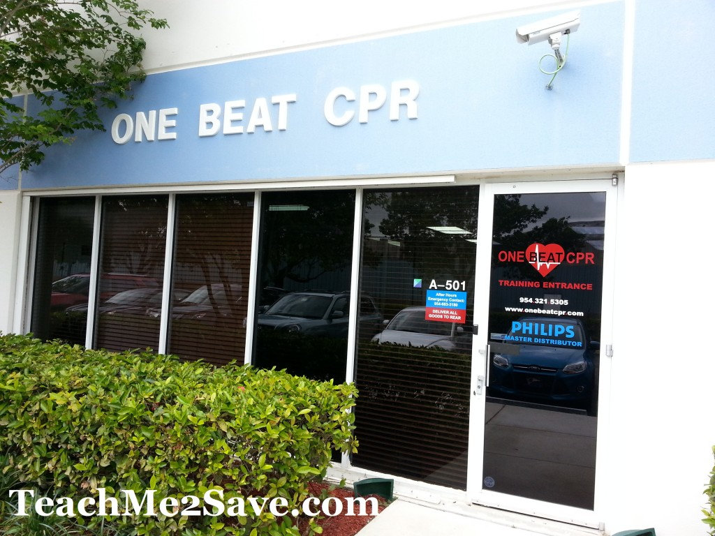 One Beat CPR Location