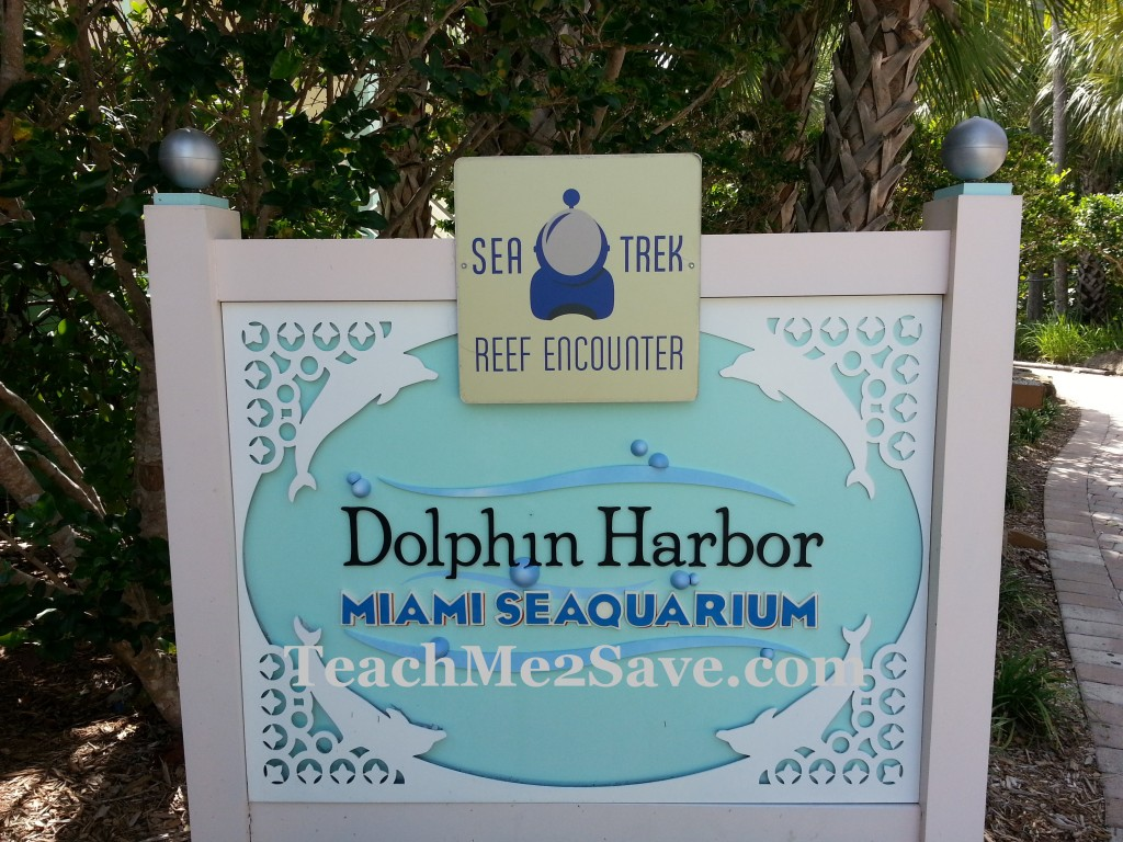 Dolphin Harbor Sign