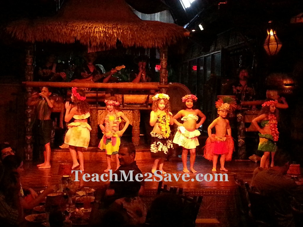 Mai-Kai Restaurant and Polynesian Show kids