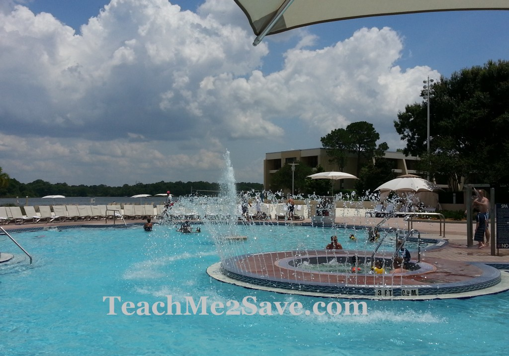 The Contemporary Resort pool