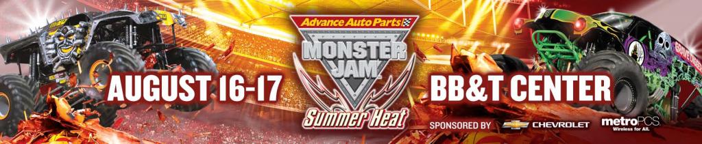 Monster Jam 8-16