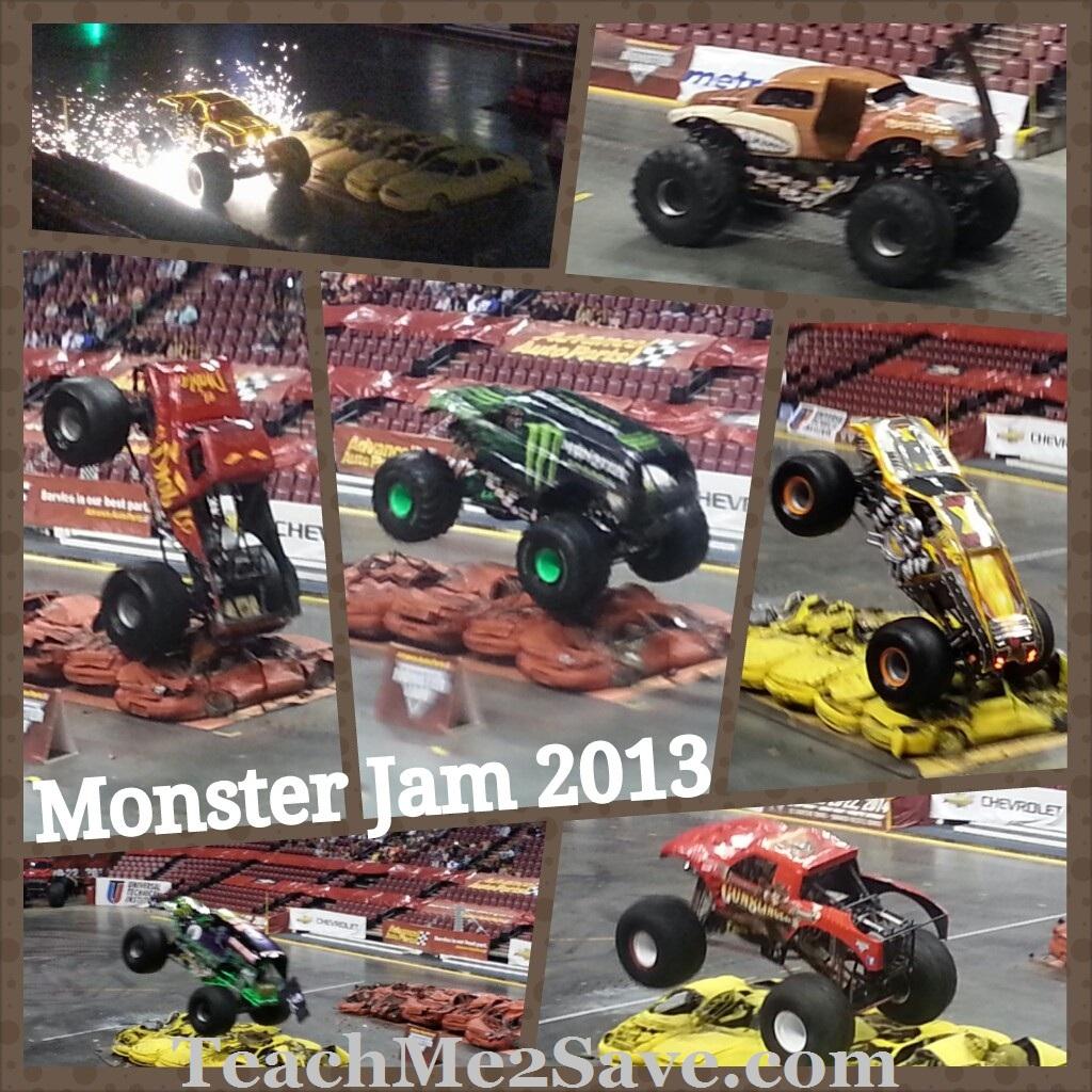 Monster Jam Truck Collage - TM2S