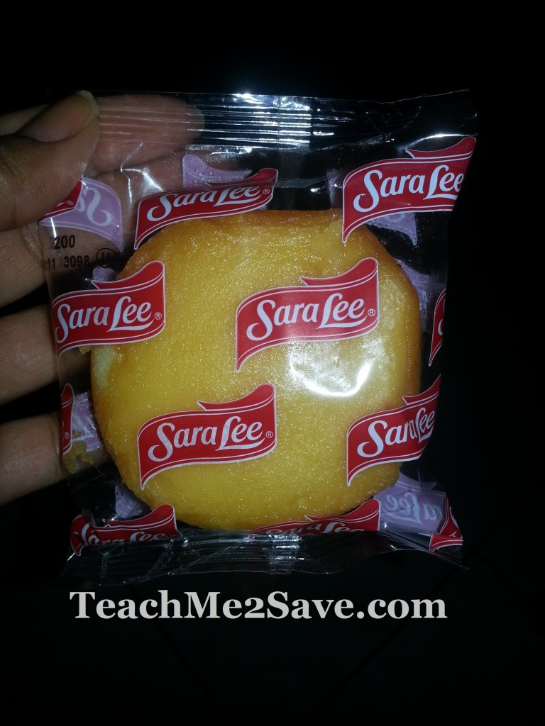 Sara Lee Buttery Sunshine Cakes