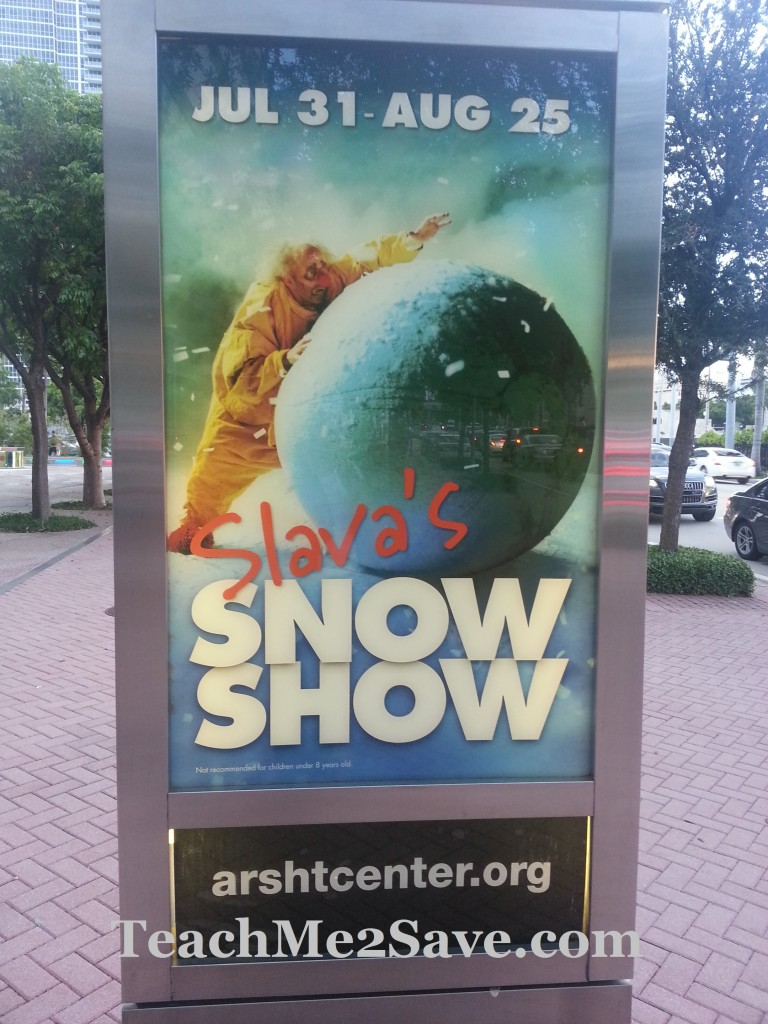 Slava's SnowShow Sign