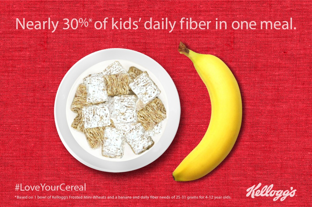 Kelloggs Love Your Cereal Image