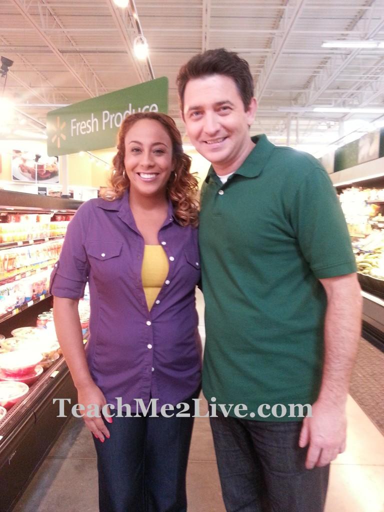 Walmart Ad Photo Shoot with Earl