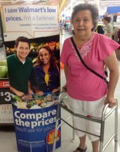 Walmart Print Ad - Margaret