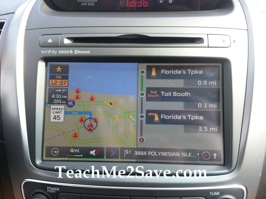 2014 Kia Sorento Navigation System