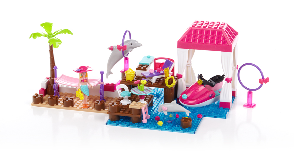 Barbie Build 'n Play Tropical Resort 3