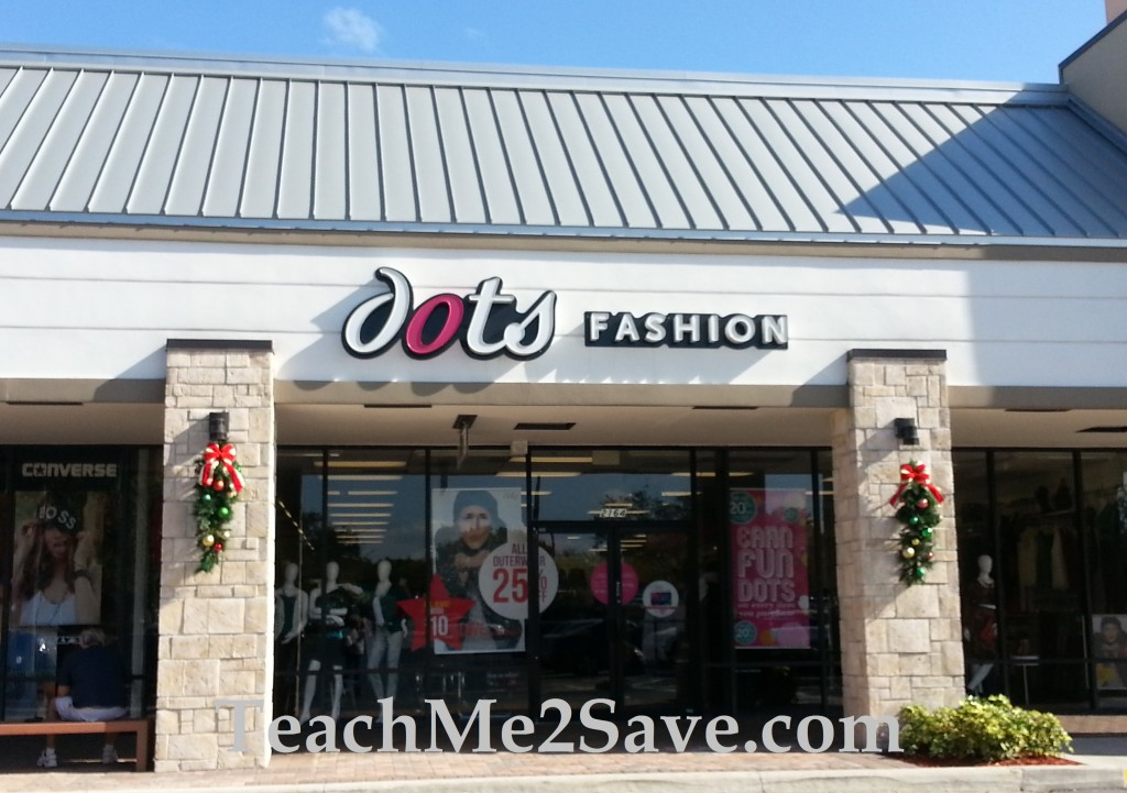 Dots Christmas Shopping
