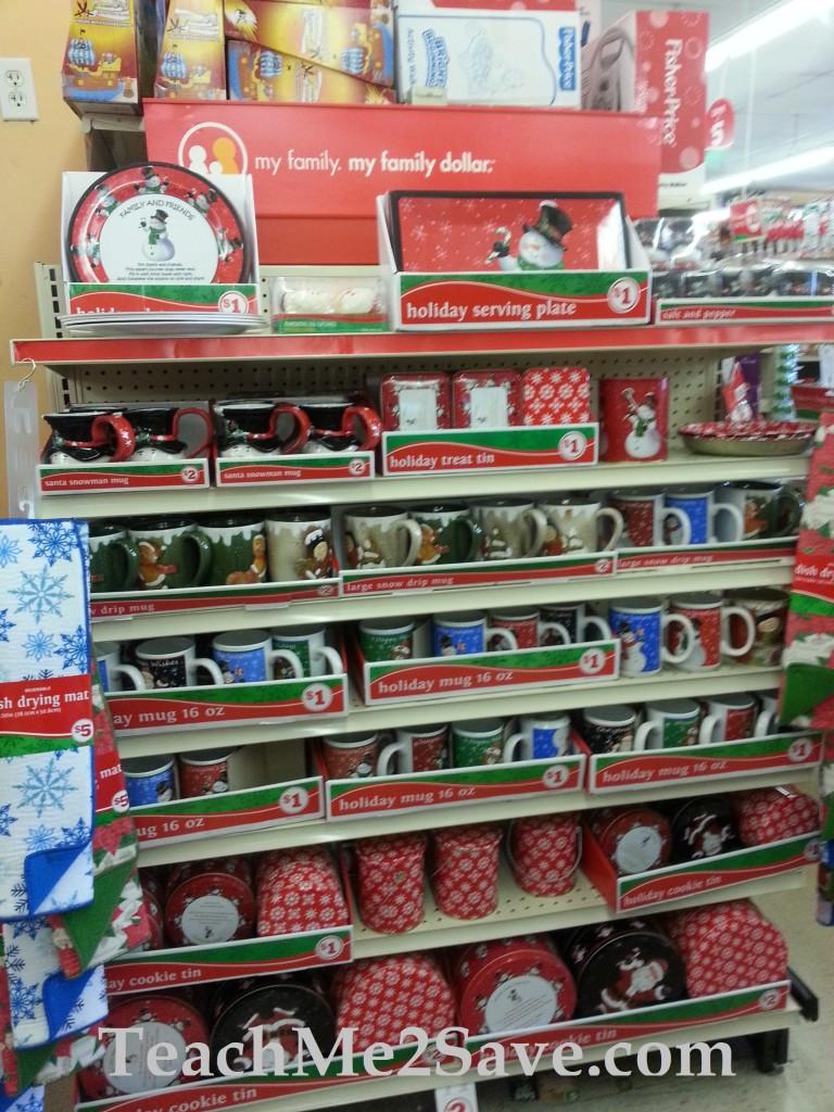 Family dollar christmas items