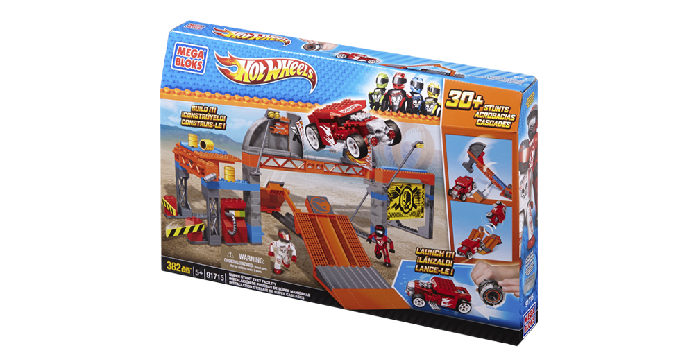 Hot Wheels Super Stunt Test Facility 4