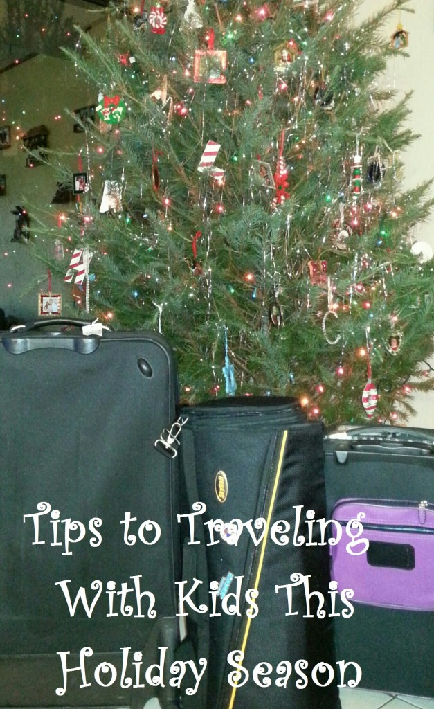 Tips to Traveling With Kids This Holiday Season
