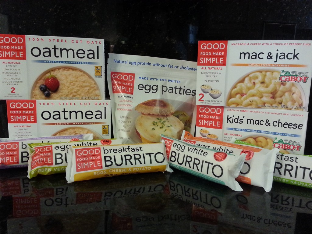 Good Food Made Simple Frozen Oatmeal