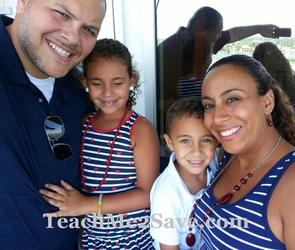 Carnival Breeze Family Pic