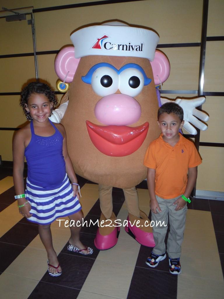 Carnival Breeze Potato Head