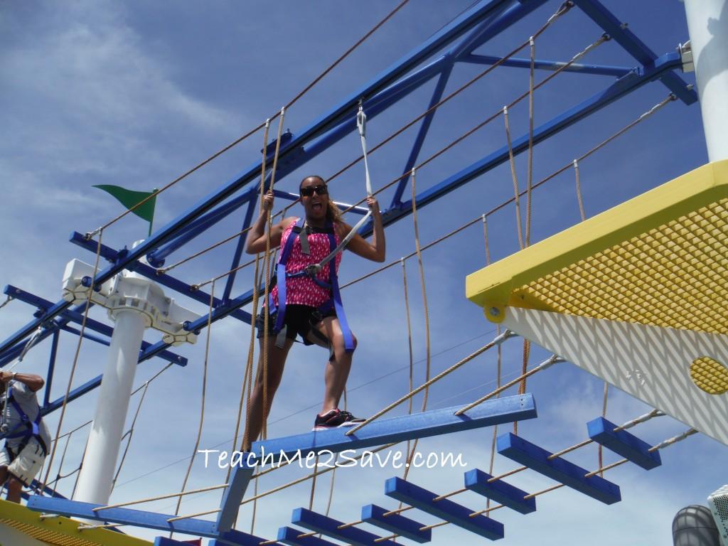 Carnival Breeze Sky Course