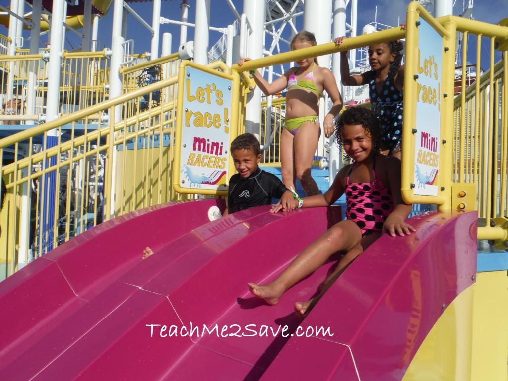 Carnival Breeze Water Works Slide