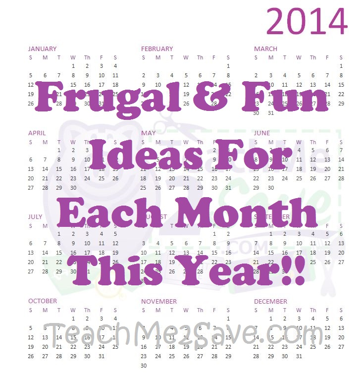 Frugal and Fun Ideas TM2S