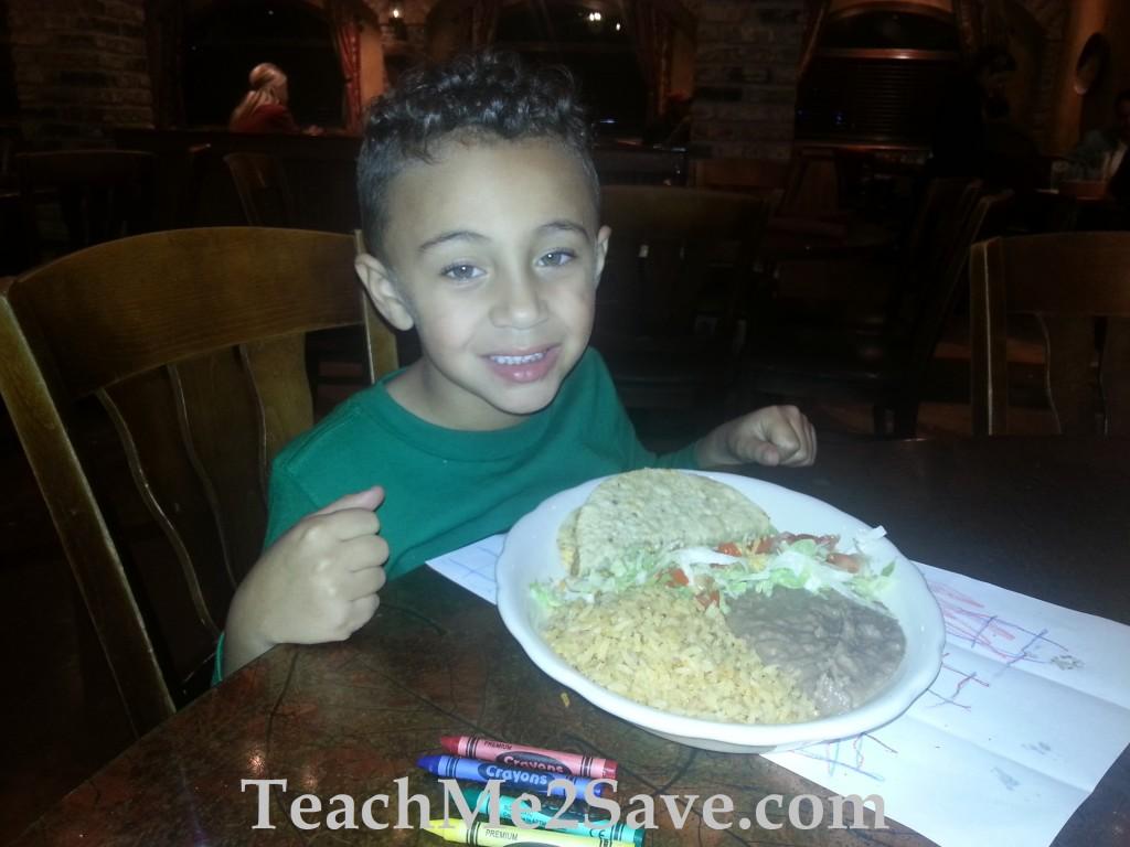 Salsalito Cantina Kids Meal