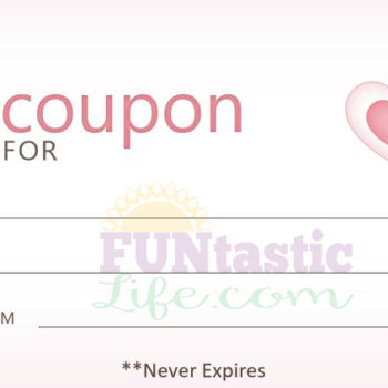 FREE Valentine's Day Coupon Book Printables