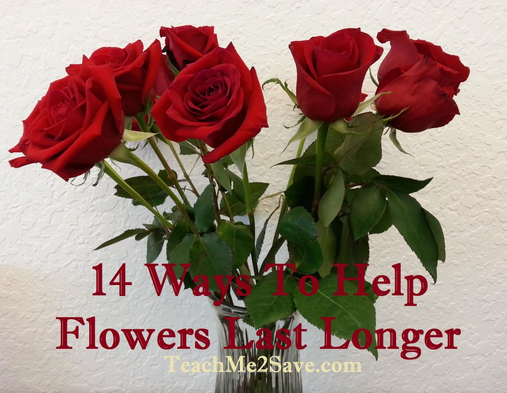 14 Ways To Help Flowers Last Longer