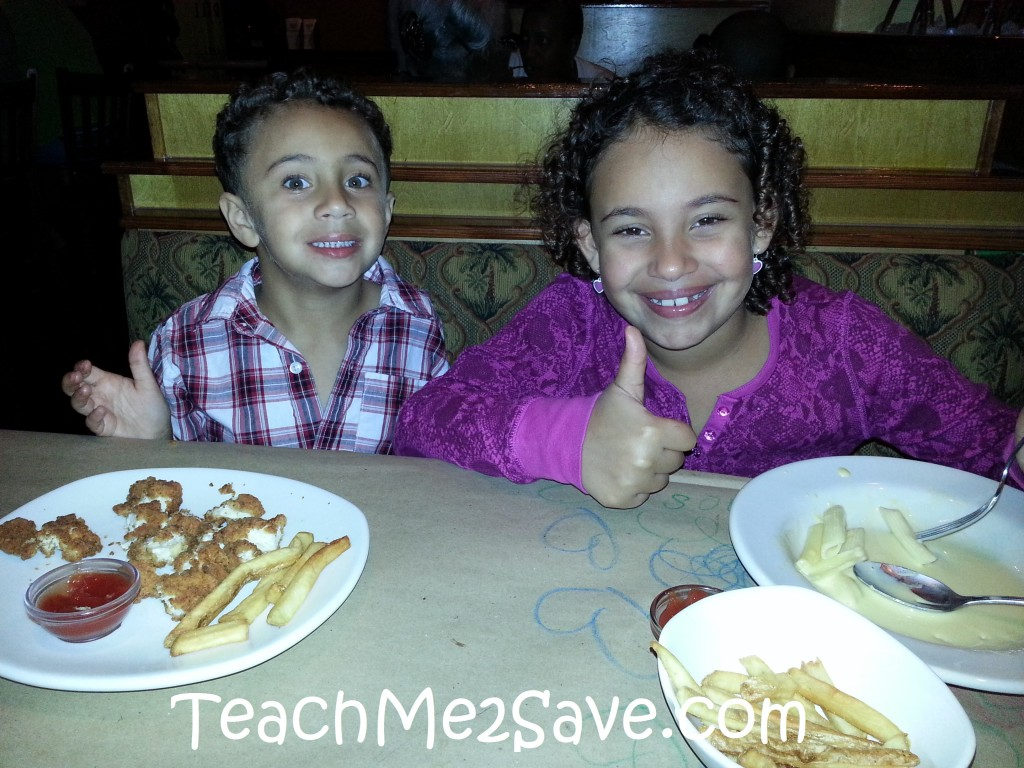 My Kids at Bonefish Grill - TM2S