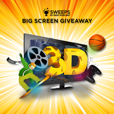 Sweeps Big Screen Giveaway