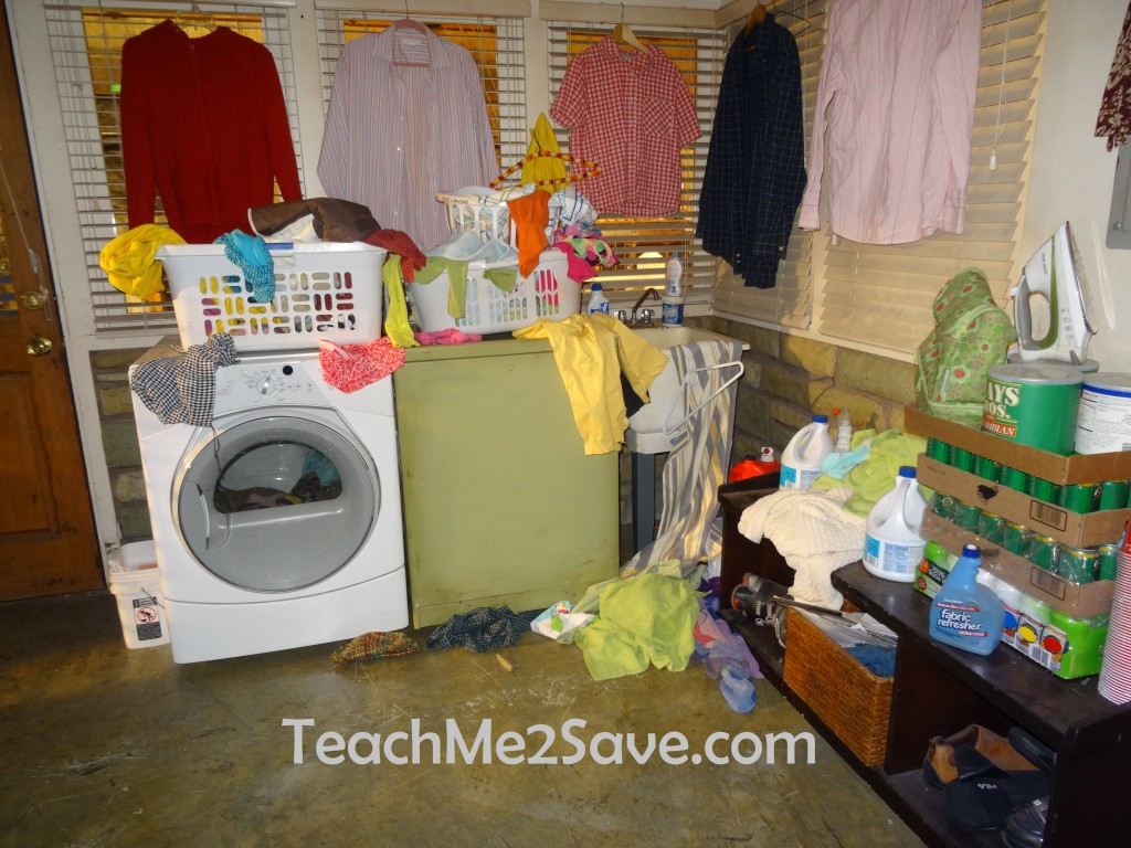 The Middle Set Visit - Laundry Room