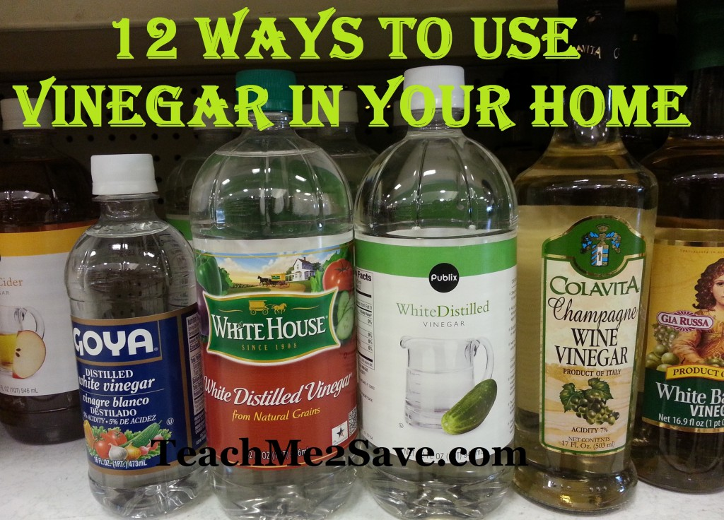 12 Ways To Use Vinegar In Your Home