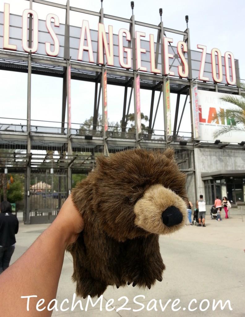 Amber at LA Zoo