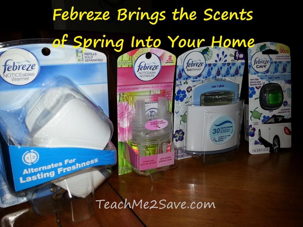 Febreze Spring Scents